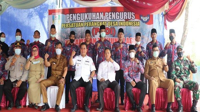 Pengurus Persatuan Perangkat Desa Indonesia (PPDI) Kecamatan Tanjung Lago masa Bhakti 2021 - 2026 secara resmi di kukuhkan.