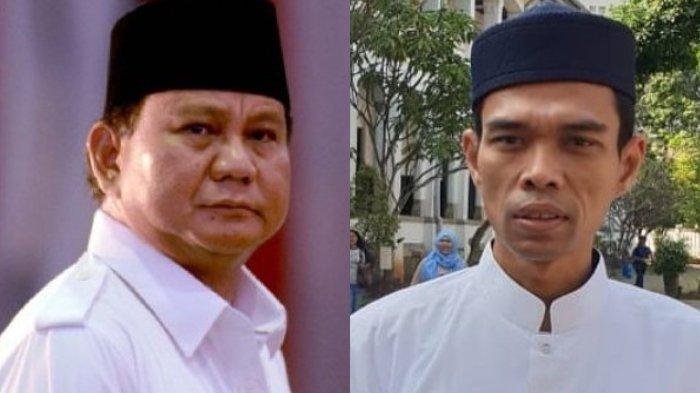 Kebimbangan Ustaz Abdul Somad Diusung Jadi Cawapres, Prabowo Subianto Sampai Ingin Ketemu