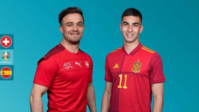 Prediksi 8 Besar Euro 2020 Spanyol vs Swiss, La Furia Roja Diunggulkan Melaju ke Babak Semifinal