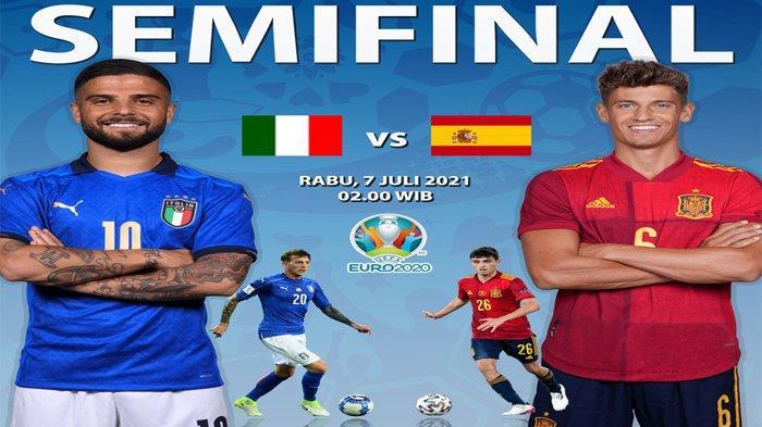 Prediksi Formasi dan Line Up Pemain Italia Vs Spanyol di Euro 2020, Ini Hasil 5 Pertemuan Terakhir
