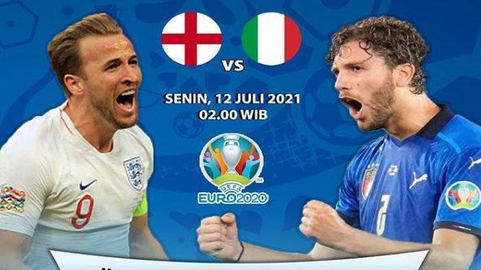 Prediksi Strategi, Formasi dan Susunan Line Up Pemain Italia vs Inggris di Final Euro 2020