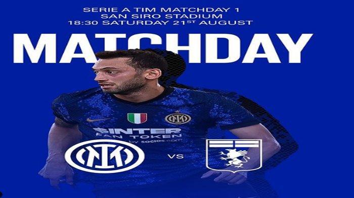 Prediksi Susunan Pemain Inter Milan vs Genoa di Liga Italia, Dumfries dan Dzeko Bakal Debut Perdana