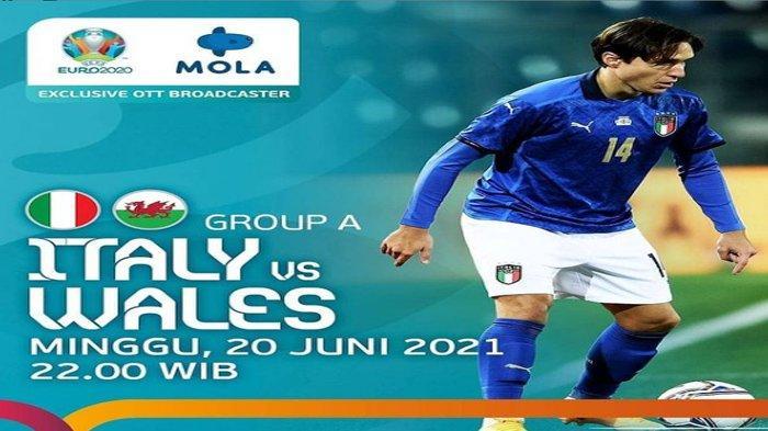 Prediksi Starting Line Up Italia Vs Wales, Azzurri Penyegaran, The Dragons Turunkan Pemain Terbaik