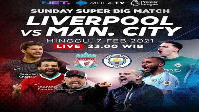 Prediksi Pertandingan Liverpool Vs Manchester City, Sanggupkah Jebol Tembok Tangguh The Citizens