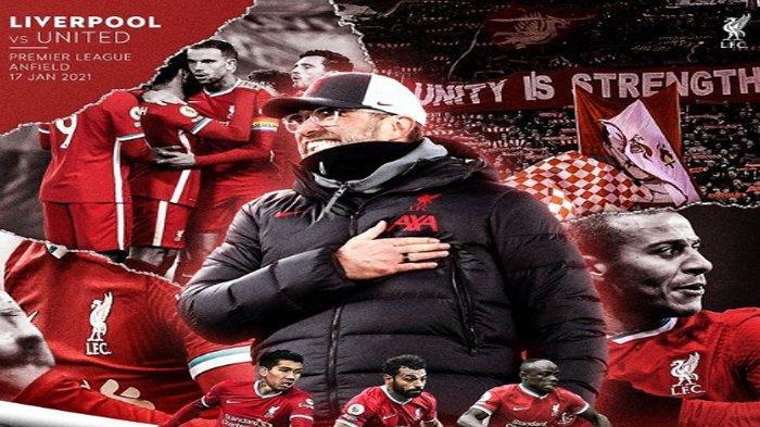 Jadwal dan Prediksi Susunan Pemain Liverpool vs Manchester United, The Reds Tanpa Pilar Andalan
