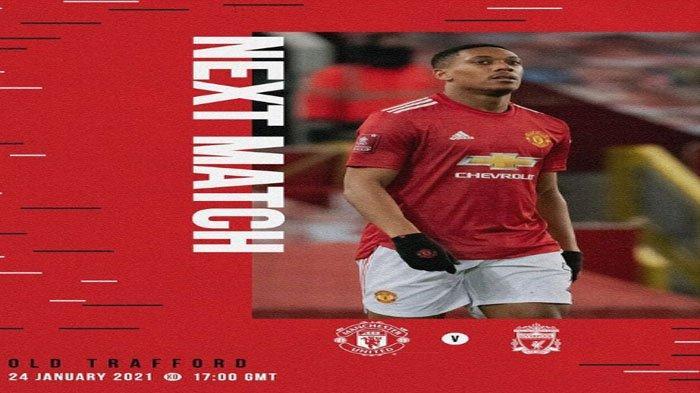Jadwal dan Prediksi Susunan Pemain Manchester United Vs Liverpool Malam Ini