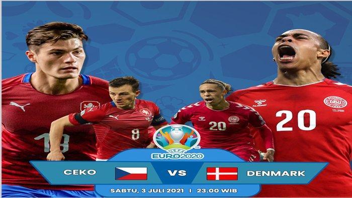 Prediksi Susunan Pemain Republik Ceko vs Denmark di Perempat Final Euro 2021