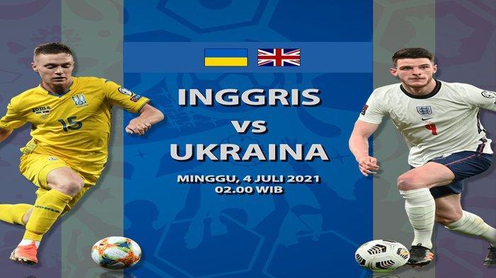 Prediksi Susunan Pemain Ukraina vs Inggris Perempat Final Euro 2020, Bukayo Saka Diragukan Tampil