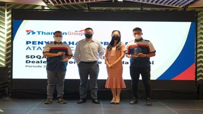 Berhasil Lalui Pandemi, 2 Dealer Thamrin Group Dapat Award