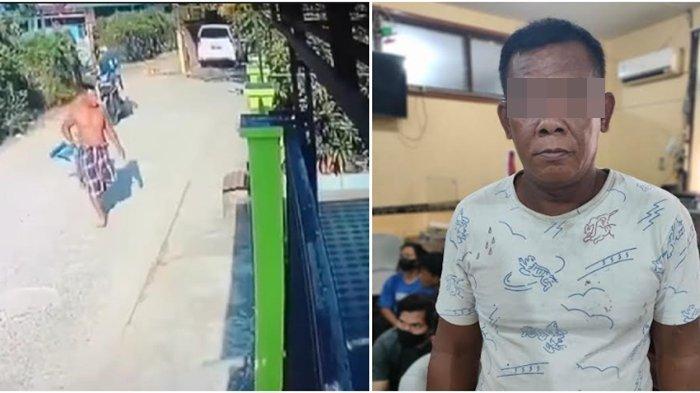 Pria yang Viral Maki-maki Tetangga di Depan Rumah Ditangkap Polisi, Ini Motifnya