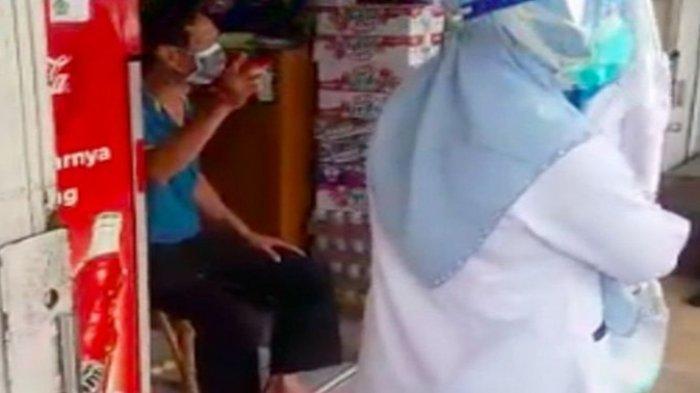 Viral Pria di Palembang Baru Pulang dari Malaysia Tolak Isolasi, Akhirnya Dipaksa Petugas