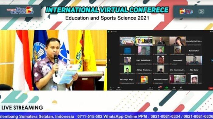 Prodi Olahraga Universitas Bina Darma Palembang Gelar International Conference