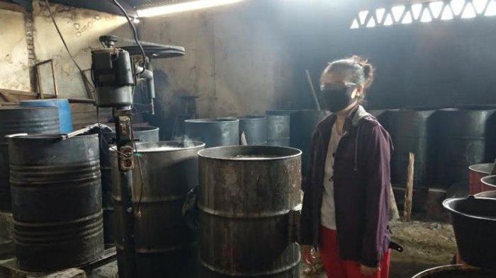 Daya Beli Masyarakat Menurun, Produsen Cincau di Lubuklinggau Kurangi Produksi