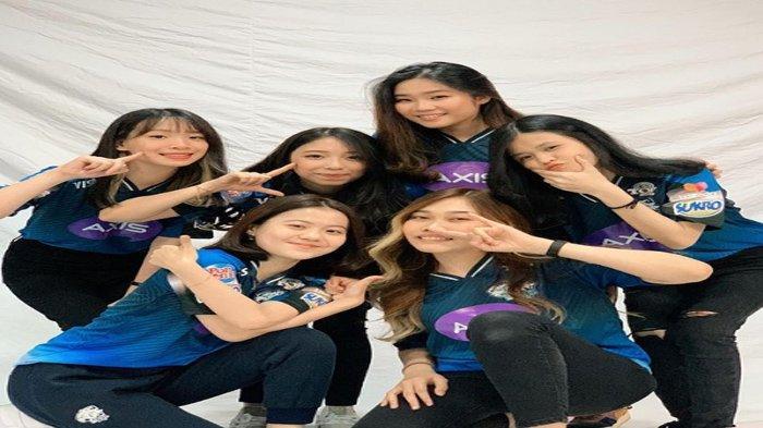 Profil Tim EVOS Ladies Mobile Legends Terbaru 2021, Dihuni Para Roster Cantik