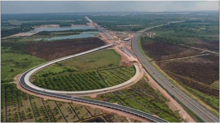 Pertengahan Oktober 2021, Progres Pembangunan Jalan Tol Simpang Indralaya-Prabumulih 57,491 Persen