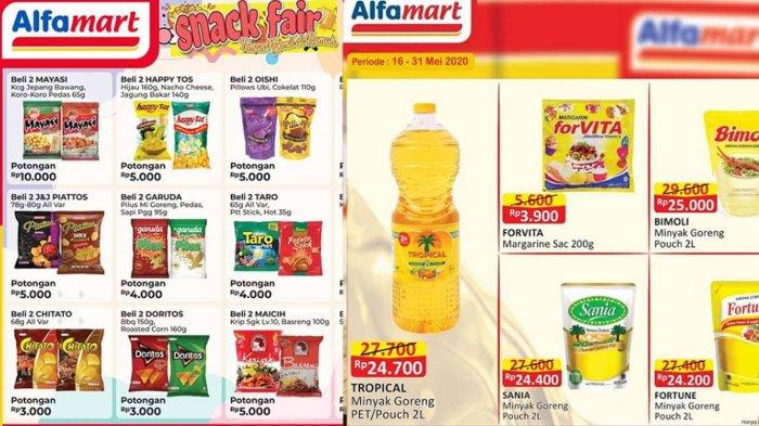 Promo Alfamart Hari Ini 28 Mei Hingga 31 Mei 2020, Ada Promo PSM, Minyak Goreng Murah, Beragam Snack