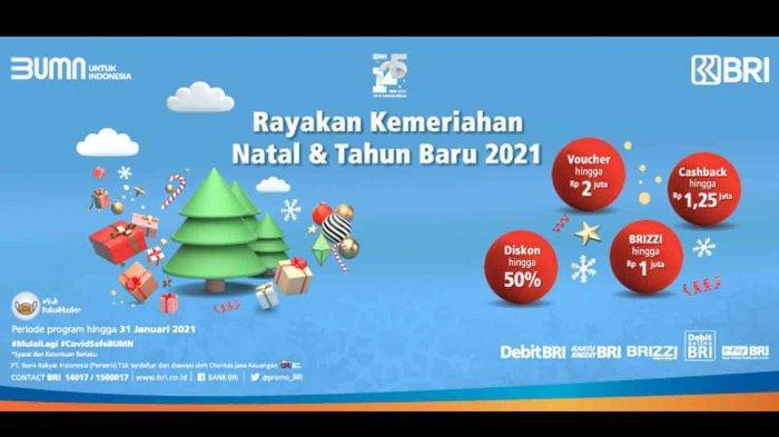 Promo BRI Natal dan Tahun Baru 2021