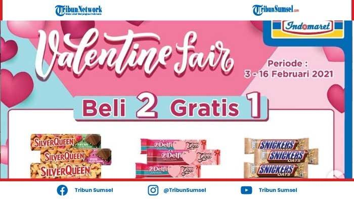 Promo Coklat SilverQueen Beli 2 Gratis 1 Valentine Fair di Indomaret, Periode 3-16 Februari 2021