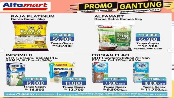 Promo Gantung Alfamart Periode 26 Februari- 4 Maret 2021