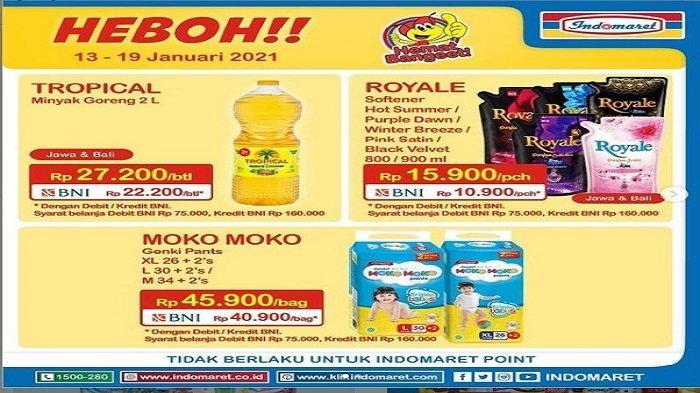 Promo Super Hemat Mingguan Indomaret, Popok Moko Moko Genki Pants Hanya Rp40.900