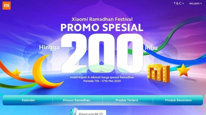 Daftar Harga Hp Xiaomi Murah Terbaru Mei 2020 Promo Xiaomi Ramadhan Festival Diskon Rp 200 Ribu Tribun Sumsel