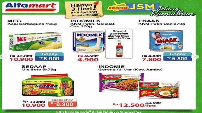 Promo JSM Alfamart 9-11 April Mendatang
