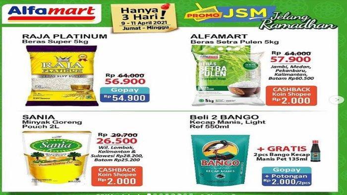 Promo JSM Alfamart 9-11 April