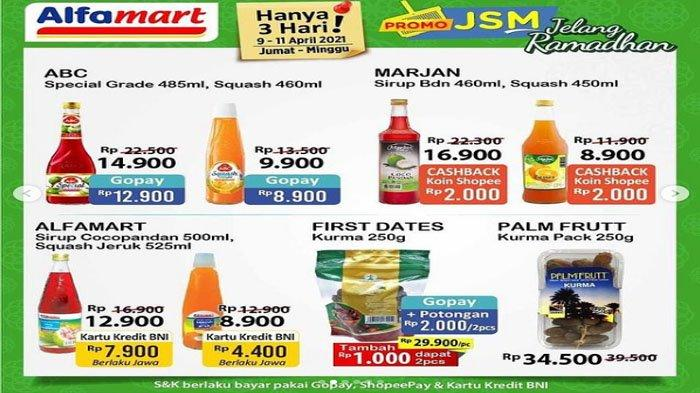 Katalog Promo JSM Alfamart Sambut Ramadhan 9-11 April 2021, Beras, Sirup, Minyak Goreng
