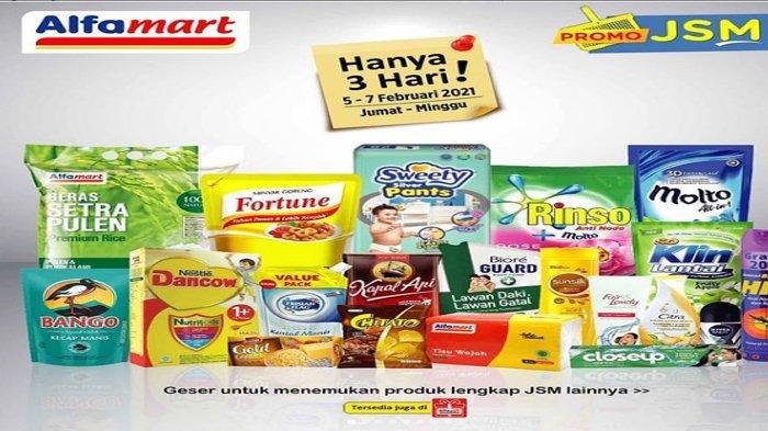 Promo JSM Alfamart Palembang 5-7 Februari 2021, Ada Diskon Produk Home Care