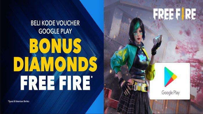 Promo 205 Diamonds Free Fire (FF) Gratis, Segera Pakai Kode Voucher Google Play, Ini Caranya