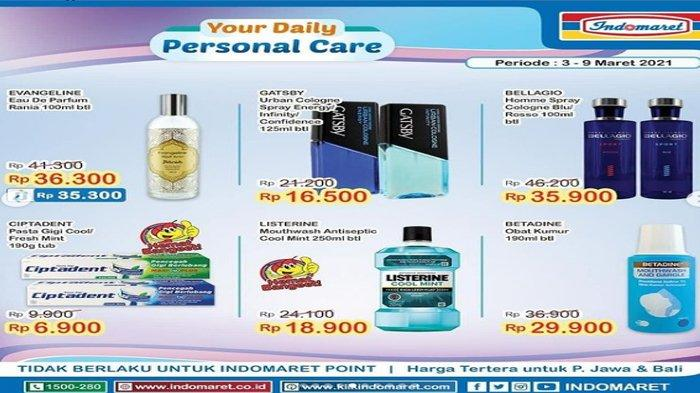Katalog Promo Super Hemat Indomaret 3-9 Maret, Produk Sabun dan Pewangi Mulai Rp 6.900