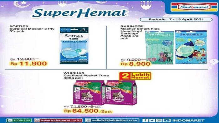 Promo Super Hemat Indomaret Banyak Diskonnya, Berlangsung Hingga 13 April Mendatang.