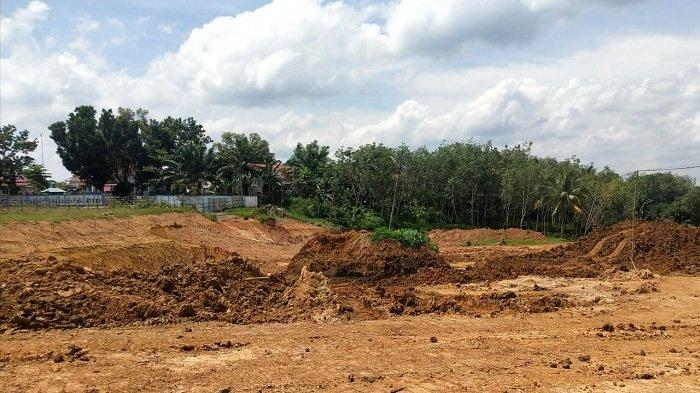 Penampakan Proyek Bakal Gedung Perkantoran PALI  Senilai Rp 4,6 Miliar, Plt Kadis Perkim Buka Suara