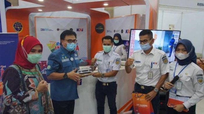Kampanyekan LRT Sumsel Aman, PT KAI Berpartisipasi Dalam Infrada Sumsel Expo 2020