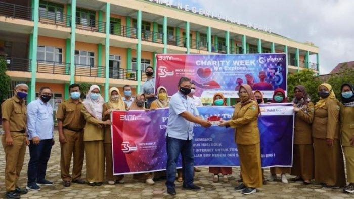 HUT ke-3 Holding Industri Pertambangan Indonesia, PTBA Gelar Charity Week