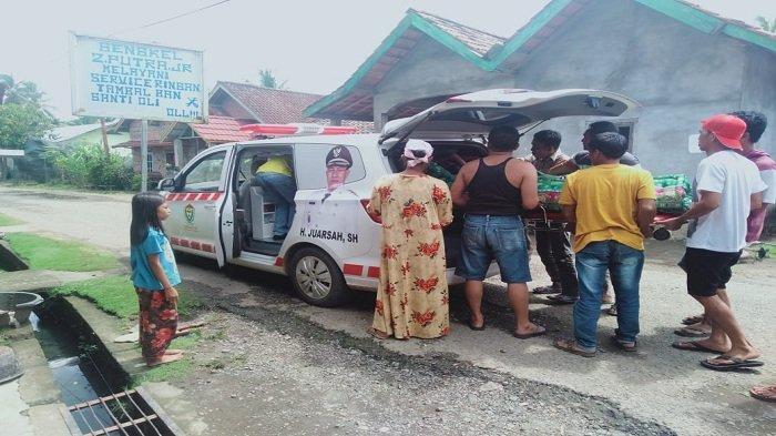 PTBA dan Pemdes Ujan Mas Ulu membantu pengobatanSahri Ependi (33) Warga Kampung III, Desa Ujanmas Ulu, Kecamatan Ujanmas, Kabupaten Muara Enim
