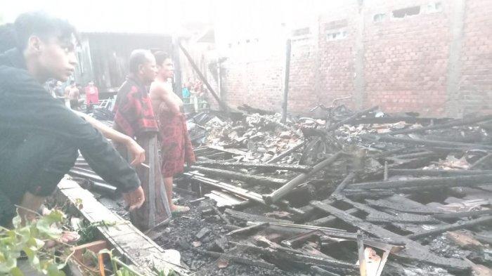 Kebakaran Tadi Subuh, Nur Fadilah Nyaris Terpanggang karena Pintu Dikunci dari Luar