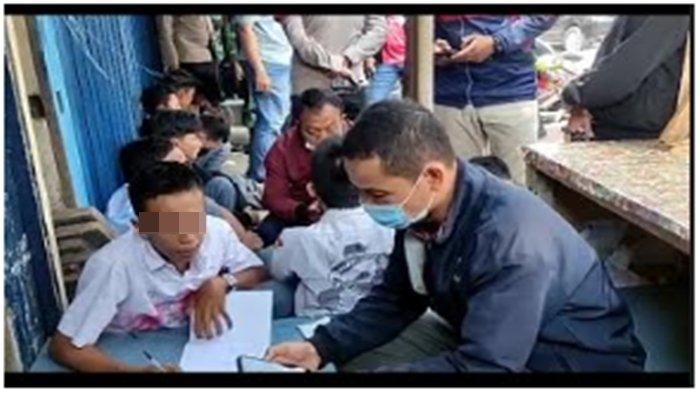 Diduga Akan Konvoi Coret-coret Baju Sekolah, Puluhan Pelajar di Palembang Diamankan Polisi