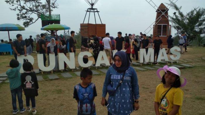 Waktu Tempuh 3,5 Jam, Wong Kito Serbu Wisata Puncak Mas Lampung