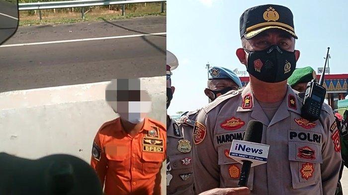 BREAKING NEWS- Polisi Tangkap Oknum BPBD dan Pol PP Diduga Pungli di Pos Penyekatan Kramasan