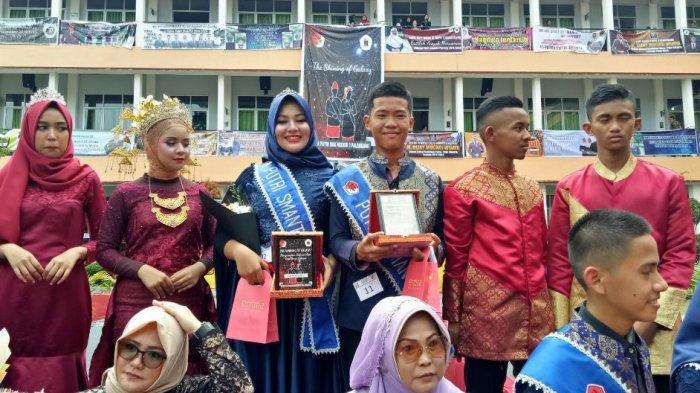 M Dovan Adrian dan Putri Wakila Dinobatkan Sebagai Putra Putri SMA Negeri 3 (SMANTA) Palembang