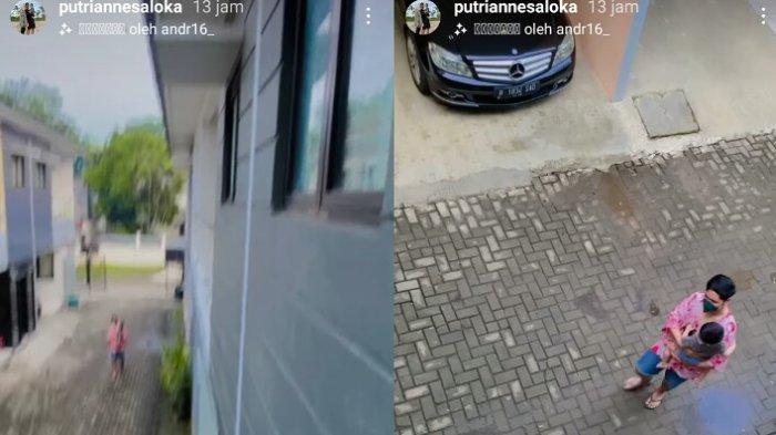 Putri Anne rekam video Donny dan Ibrahim di depan rumah