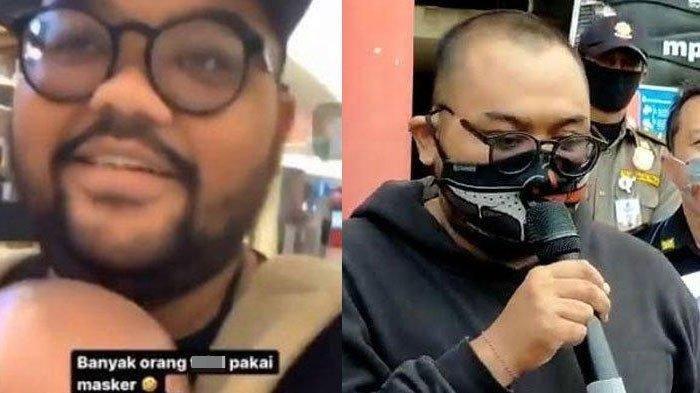 Putu Arimbawa Penghina Pengunjung Bermasker Mall Surabaya Didenda Rp150,000 dan Melayani ODGJ