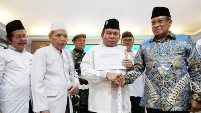 Gubernur Herman Deru Jabat Mustasyar PWNU Sumsel