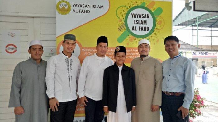 Wakili Sumsel, Siswa SMP Islam Al Fahd Jakabaring ini Berlatih Khusus dengan Qori Internasional