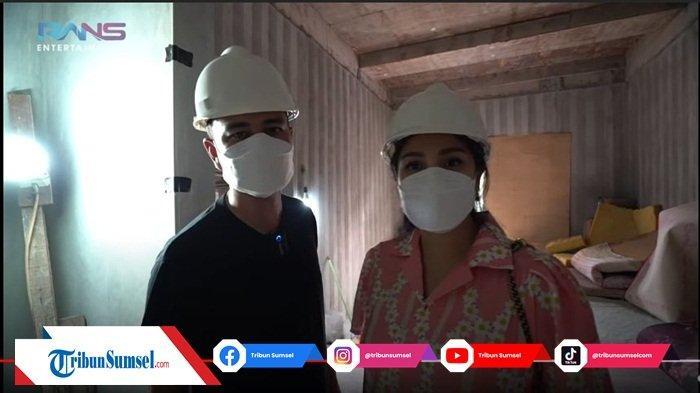 Raffi Ahmad Pusing, Nagita Slavina Minta 'Dibongkar' Saat Cek Rumah Baru, Udah 50 Persen Ini