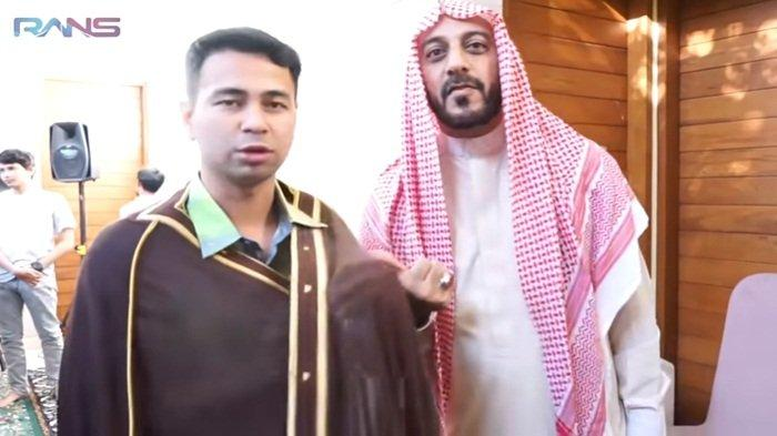 DUKA Syekh Ali Jaber Meninggal Dunia, Raffi Ahmad Sempat Diberi Jubah 'Spesial', Bukan Sembarangan