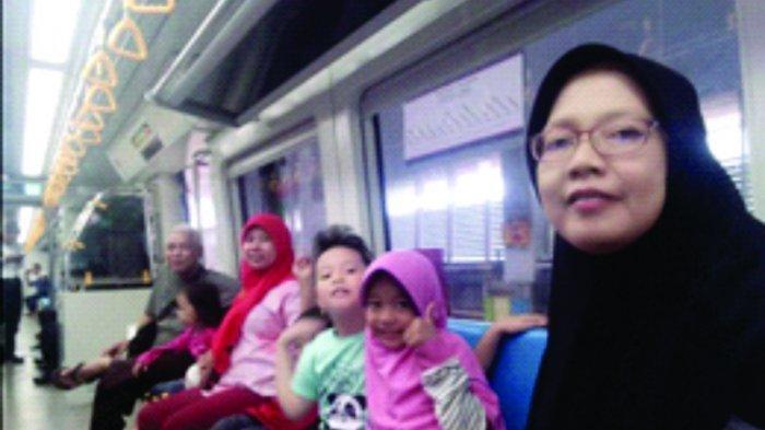 1 Tahun LRT Sumsel, Jadikan LRT Gaya Hidup Transportasi Kota Palembang