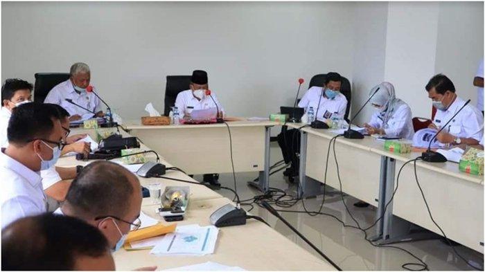 Wawako Lubuklinggau H Sulaiman Kohar Pimpin Rakor Aksi Program Pemberantasan Korupsi Terintegritas