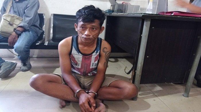 Satu Tahun Buron, Pria di Palembang Pasrah Ditangkap Jatanras saat Mancing